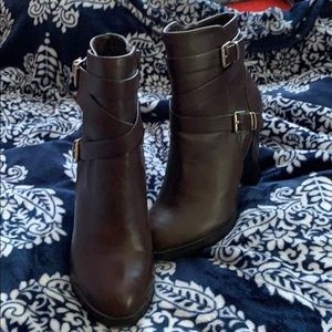 Brown Forever 21 boots